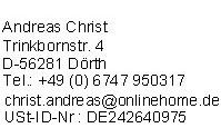 Impressum der Internetseite Fernsehen-Kabel.de
